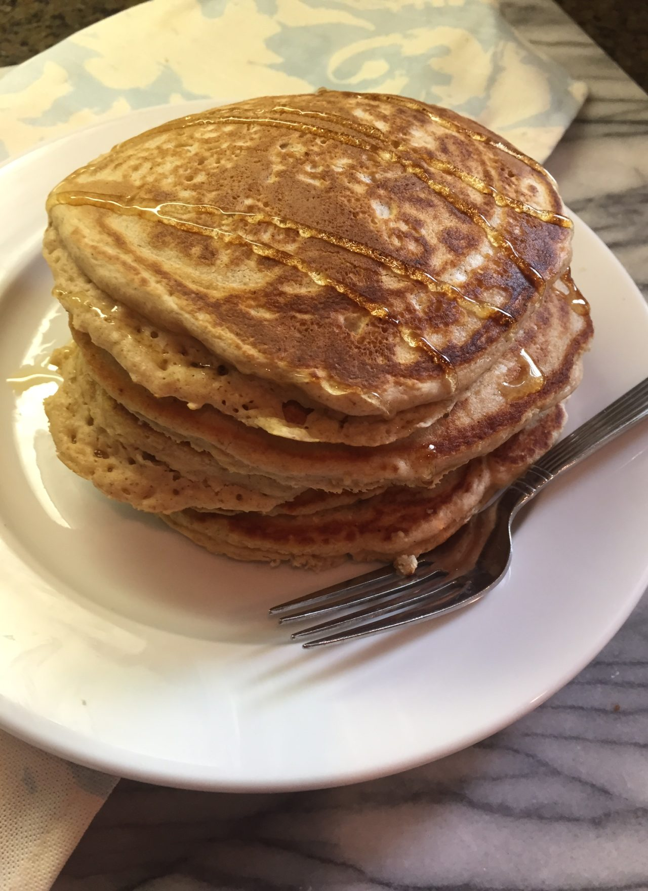 Gluten Free Pancakes with Gluten Free Oats