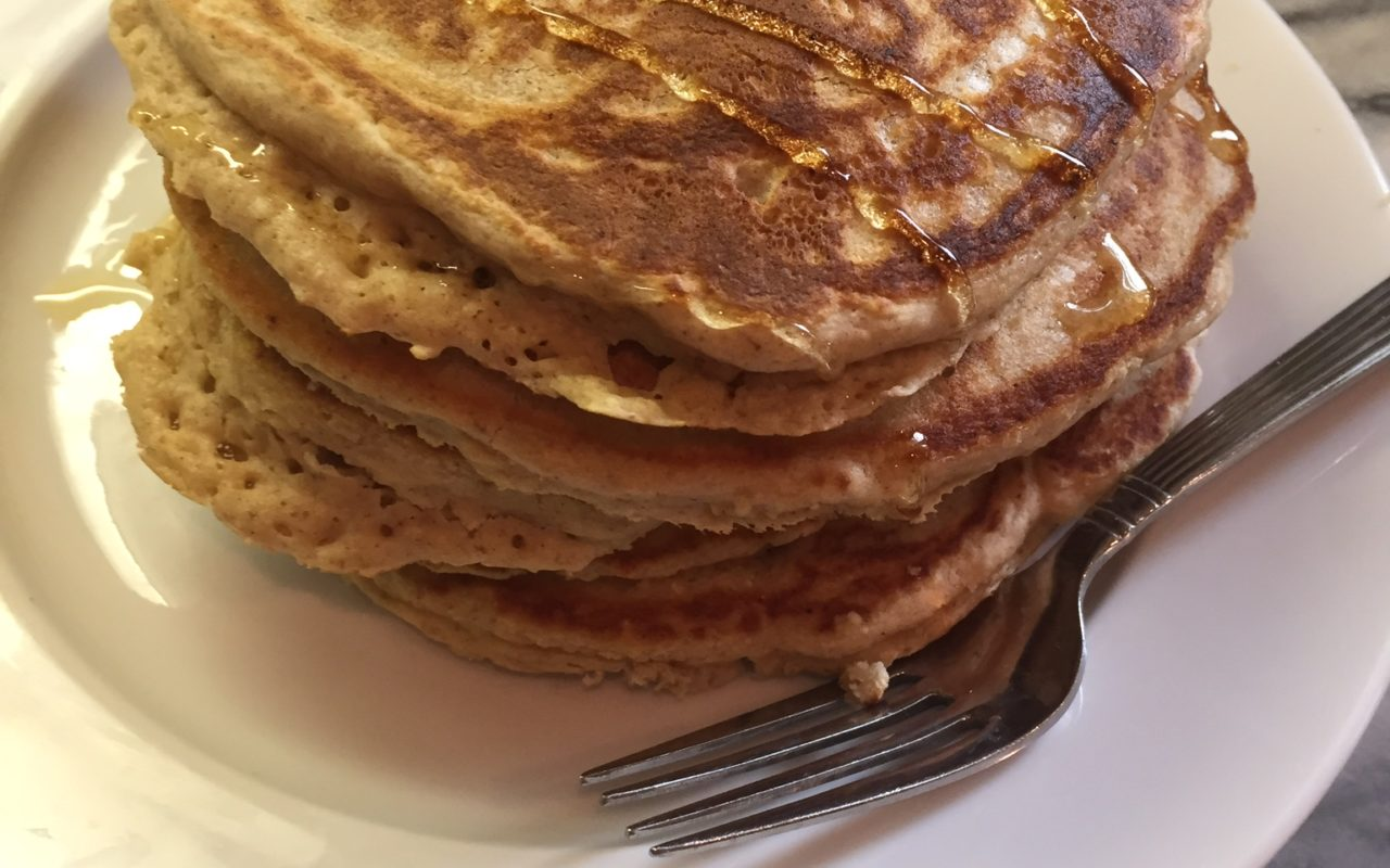 Gluten Free Pancakes with Gluten Free Oats