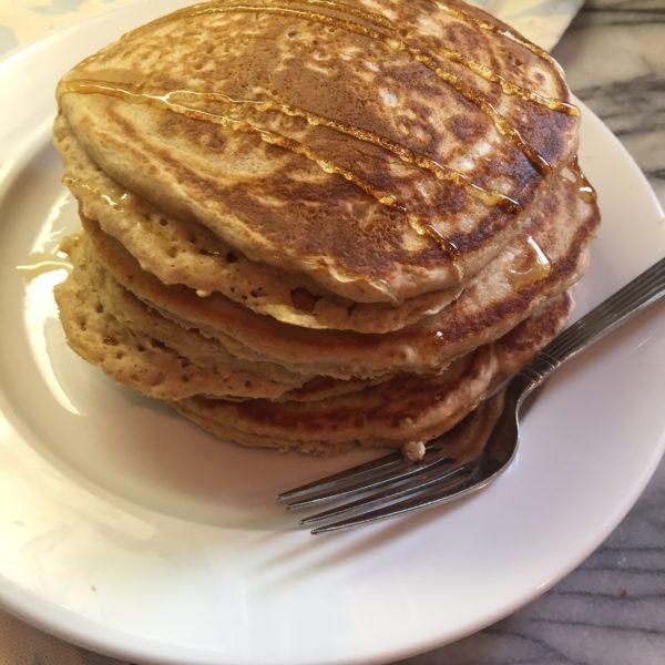 Oat Flour Pancakes (GF Oats)