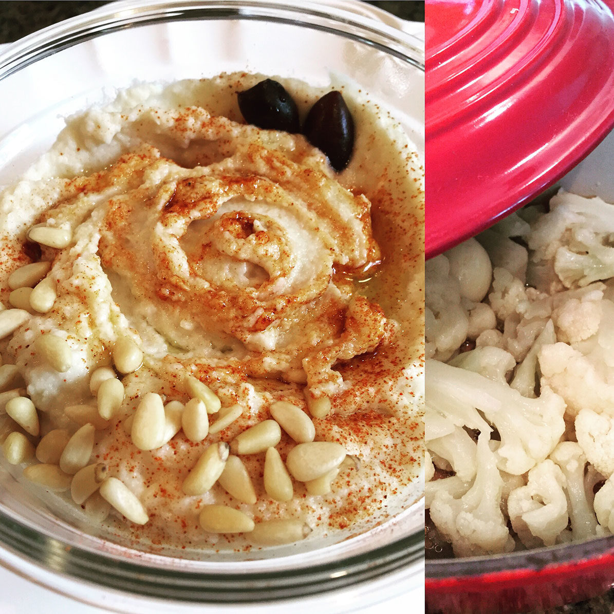 Low Carb Cauliflower Hummus