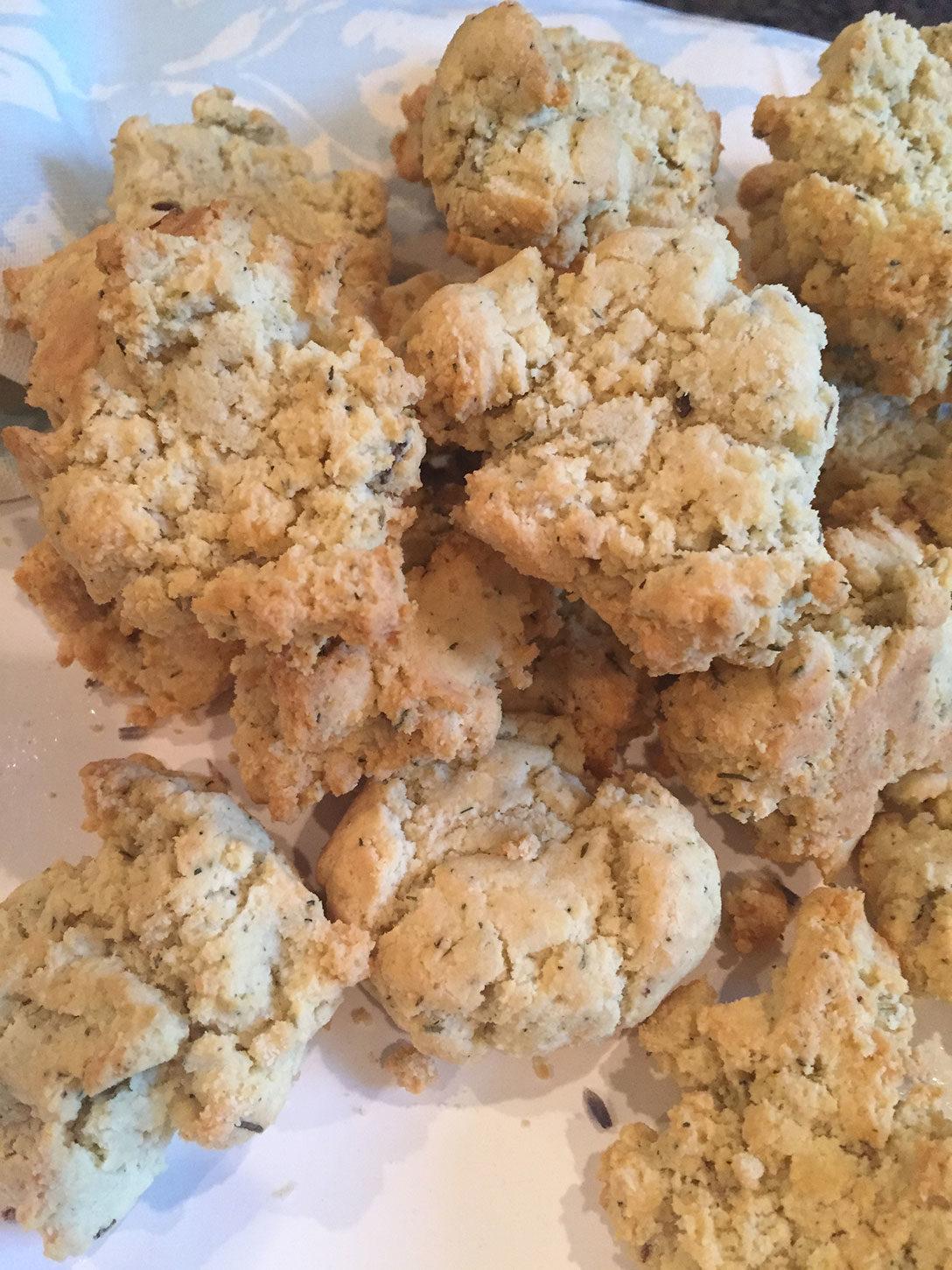 Paleo Herbs de Provence Biscuits