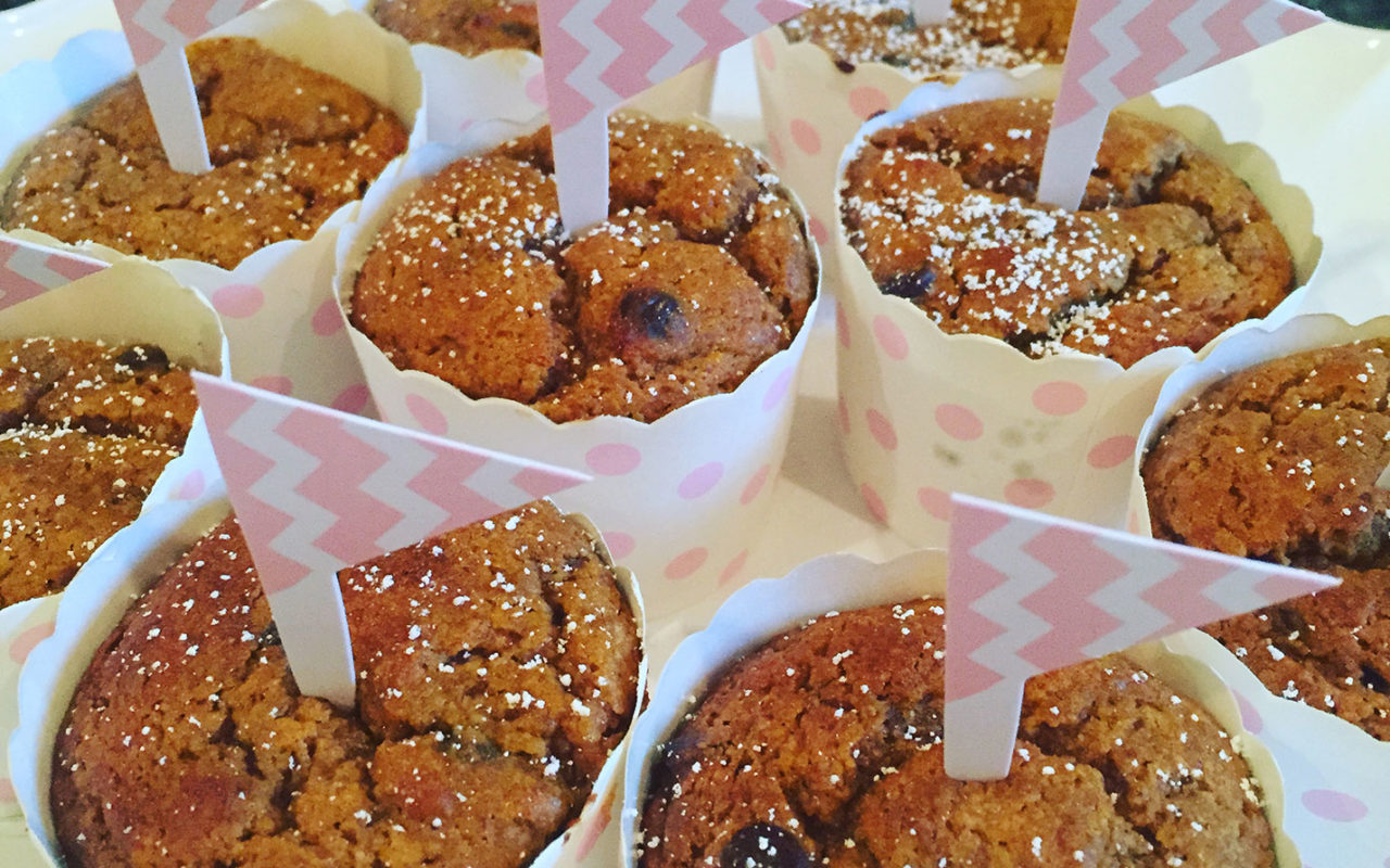 Paleo Pumpkin Chocolate Chip Muffins