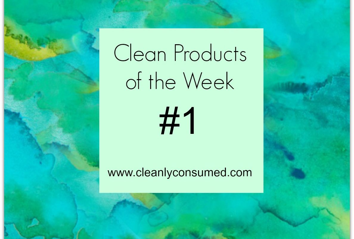 Products of the week #1- clean pantry items and a must have appliance
