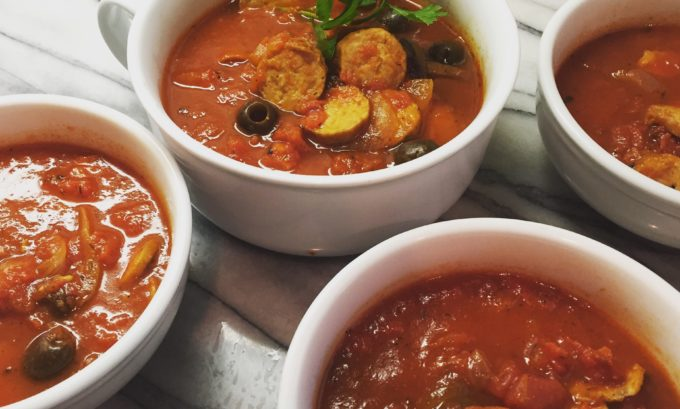 Pizza Soup- A Smart Option in the Instapot