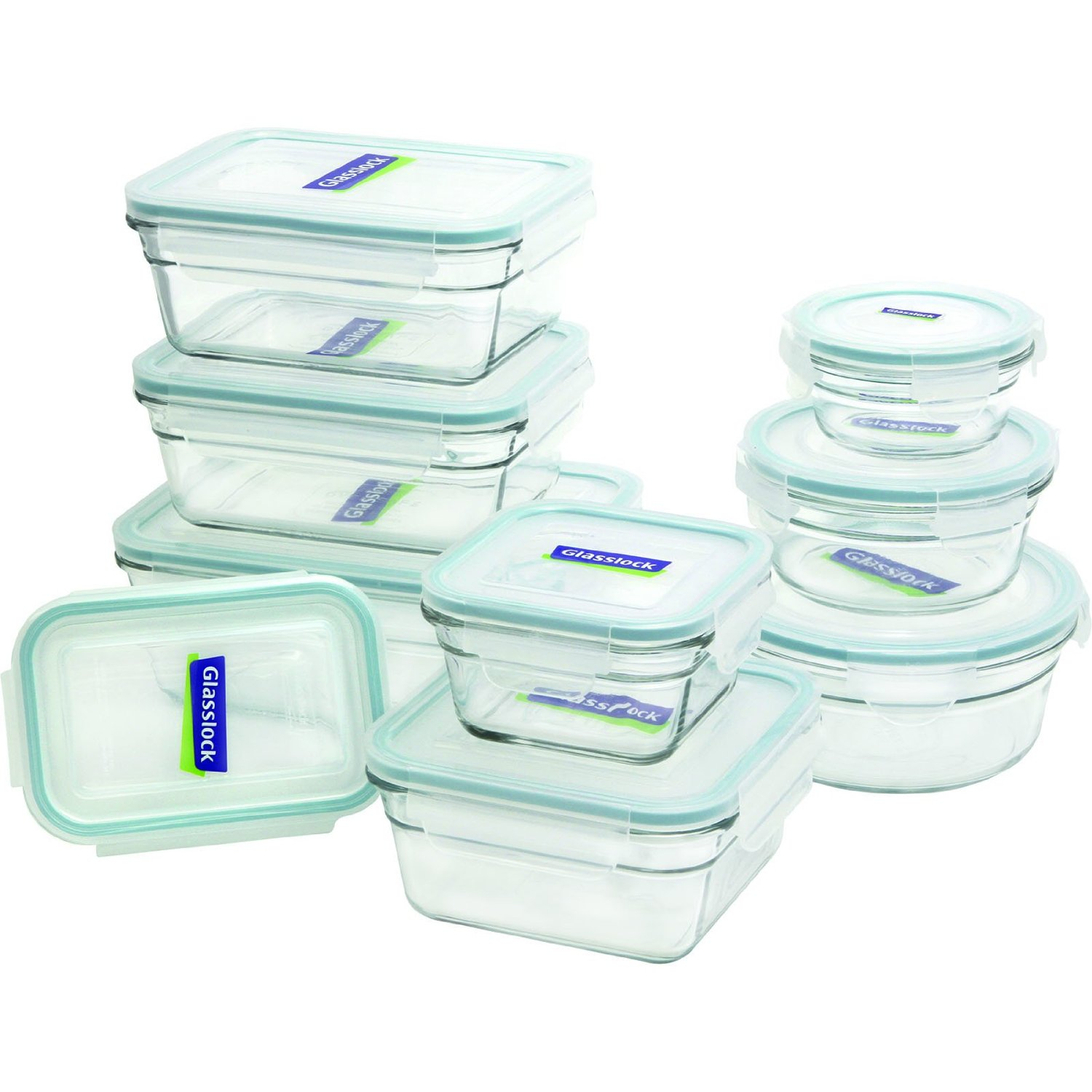 Clean Eating Glasslock Storage Containers