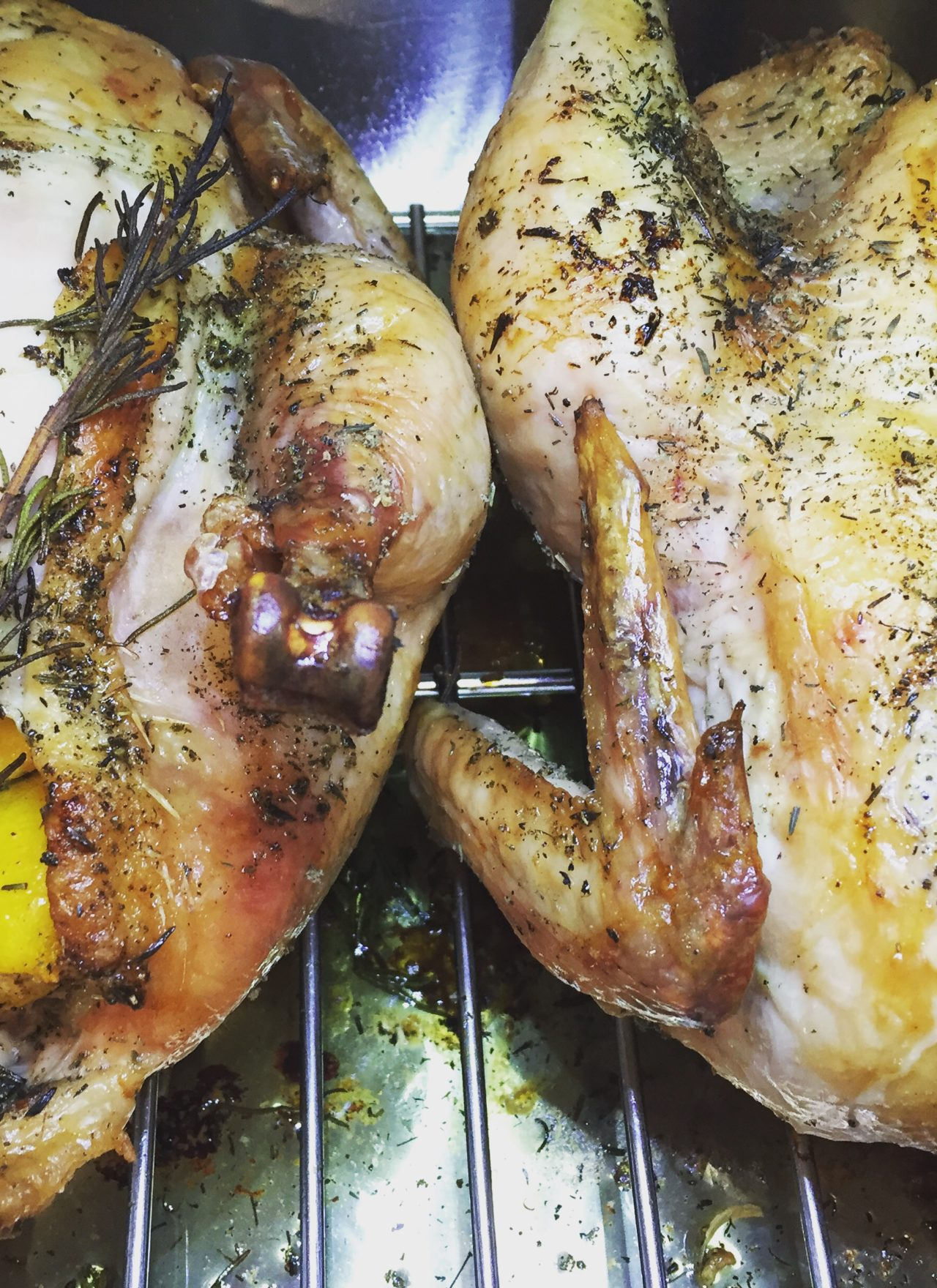 Herb Oven Roasted Chicken