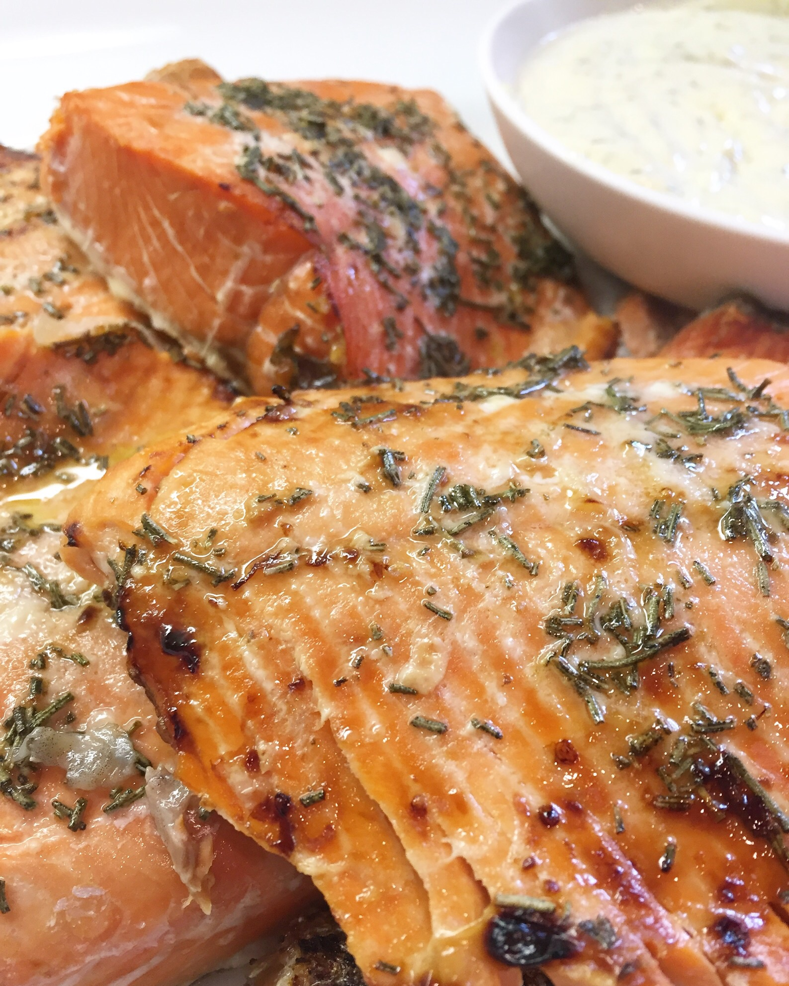 Honey Rosemary Salmon