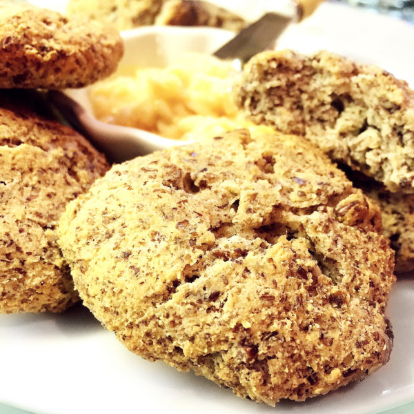 Paleo Seeded Biscuits- earthy and suportive