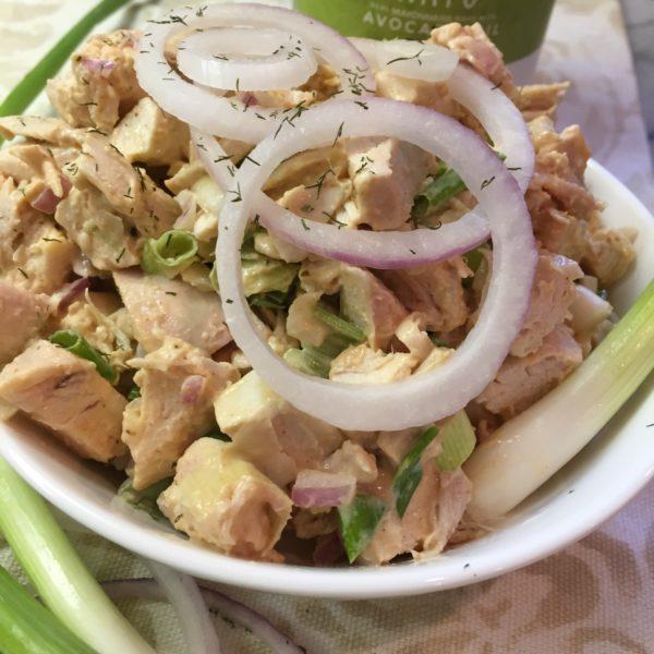 Paleo BBQ Chicken Salad