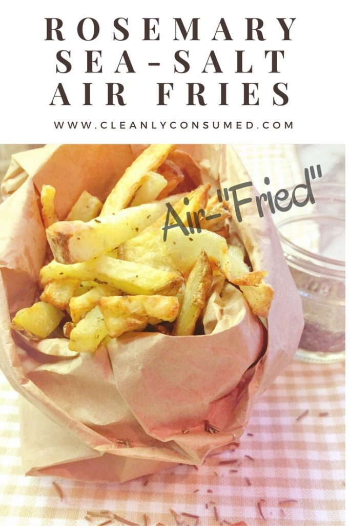 "1 Tablespoon of Olive Oil puts ""fries"" back on the clean eating menu!"