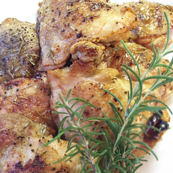 Rosemary Caramel Chicken- Clean & Paleo
