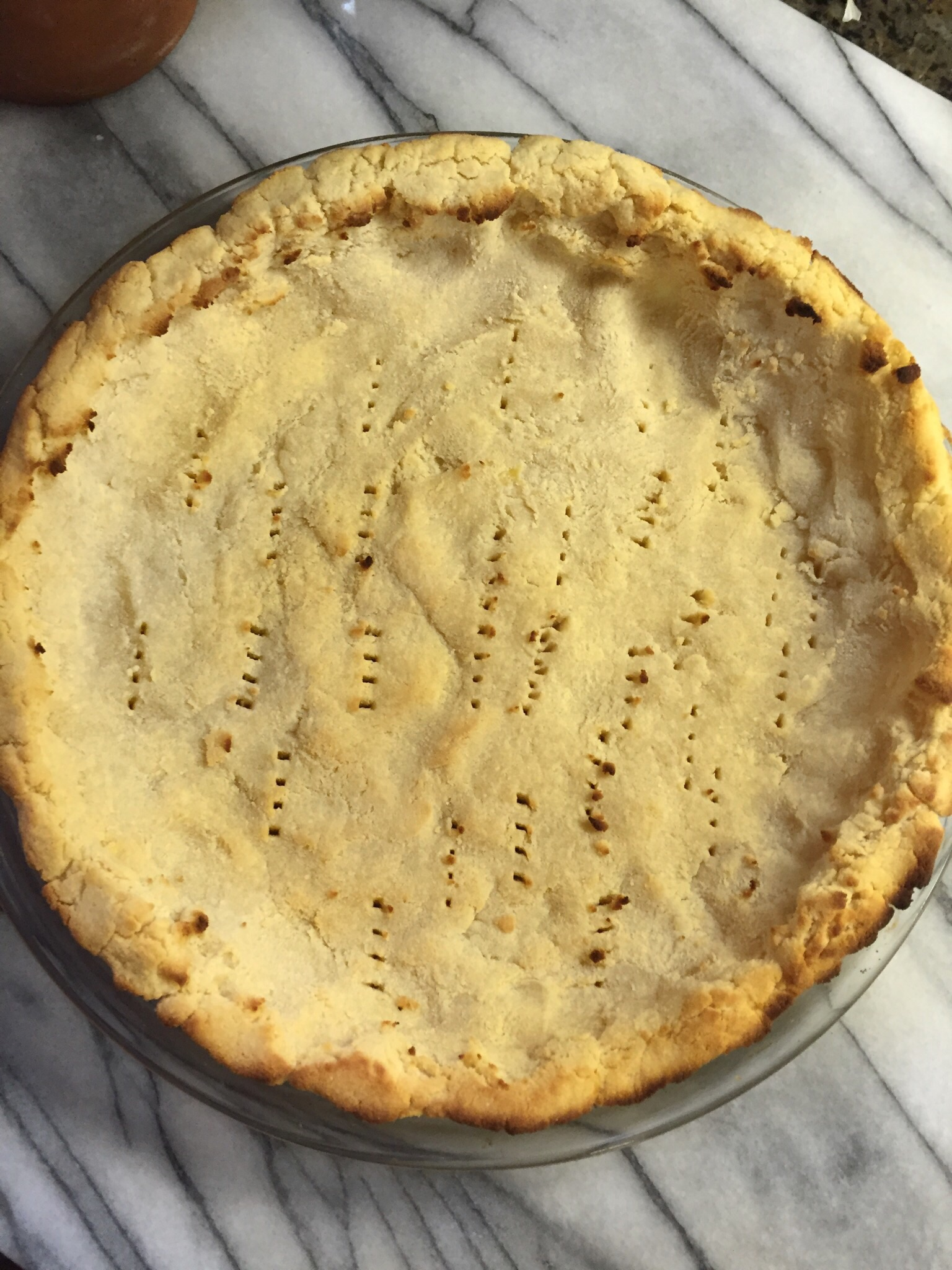 Clean Eating Coconut Flour Pie Crust