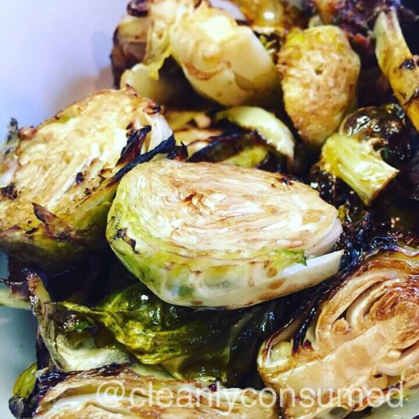 Balsamic Syrup Brussel Sprouts