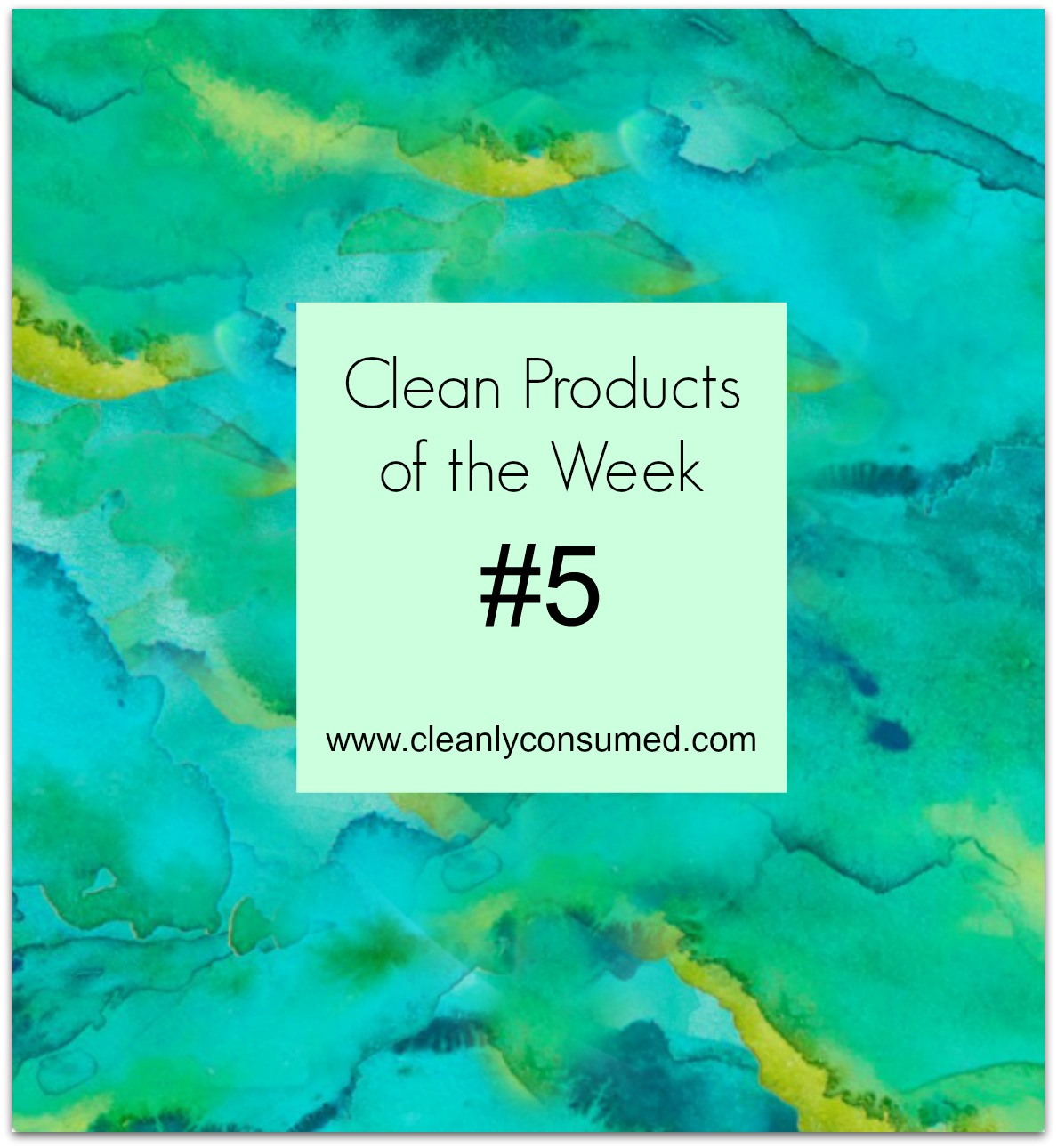 Clean Eating Products