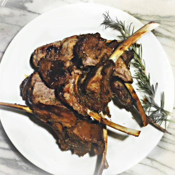 Molasses & Rosemary Lamb Chops