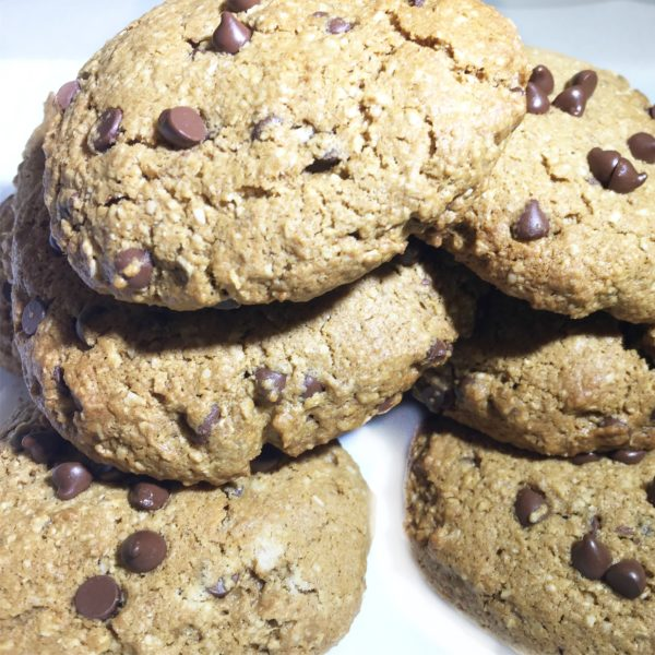 Healthier Chocolate Chip Cookies!