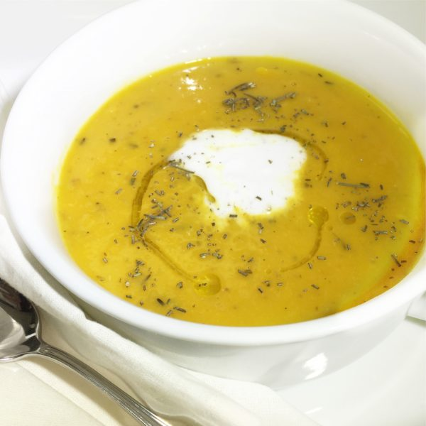 Roasted Squash & Pear Soup