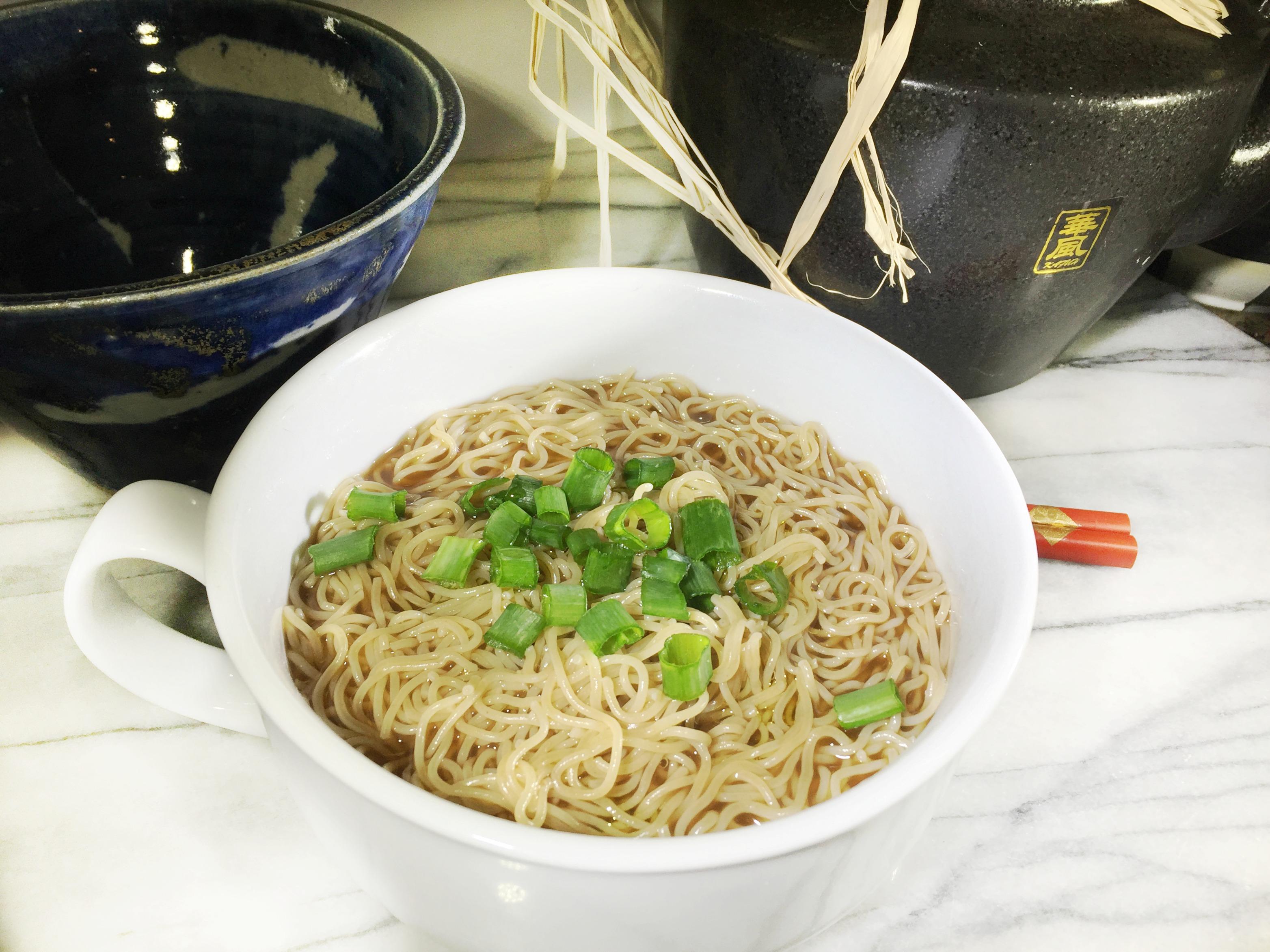 Healthier Ramen Noodles