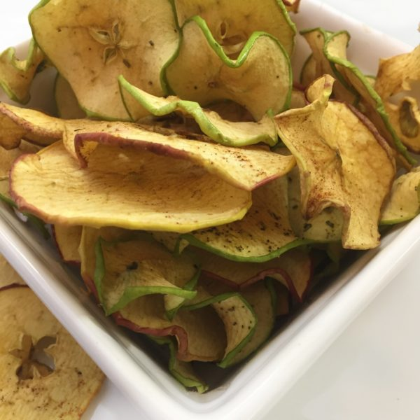 Snackable Apple Chips