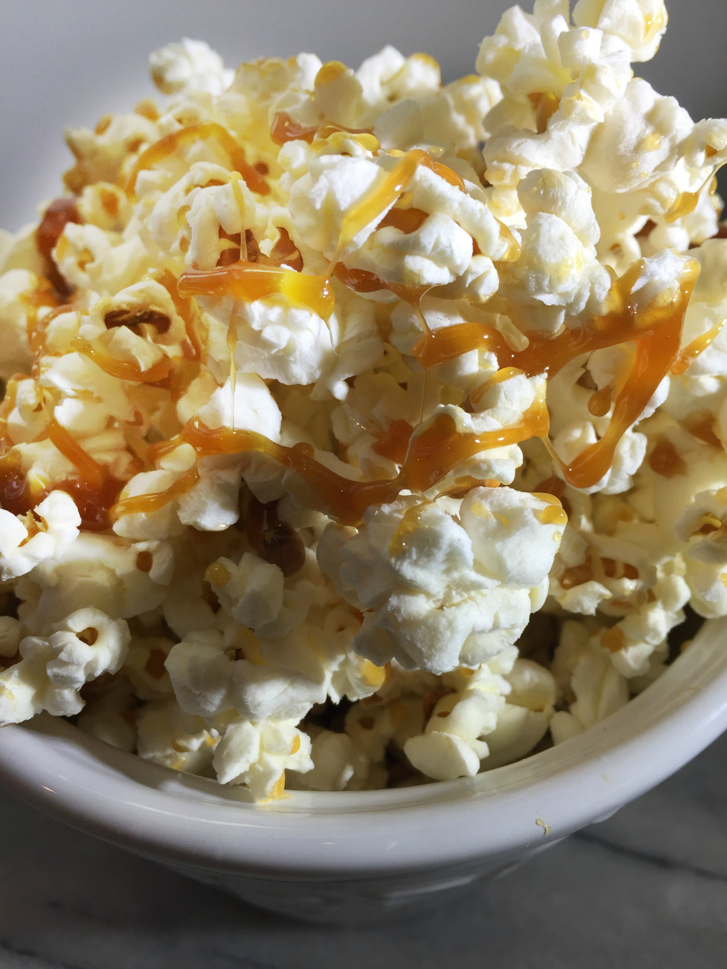 Paleo Caramel Popcorn