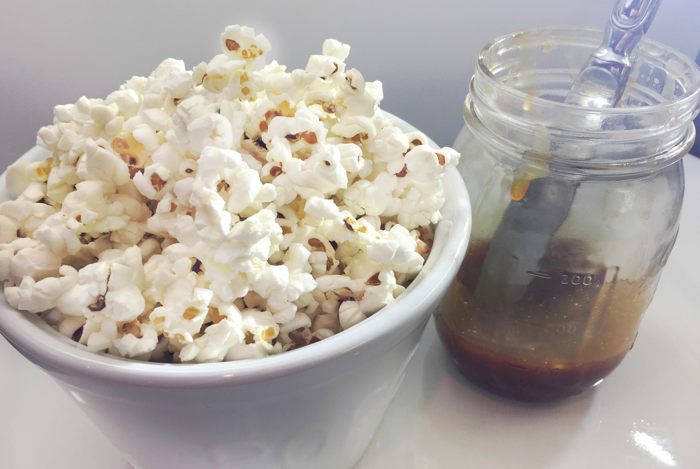 Paleo Caramel and Organic Popcorn