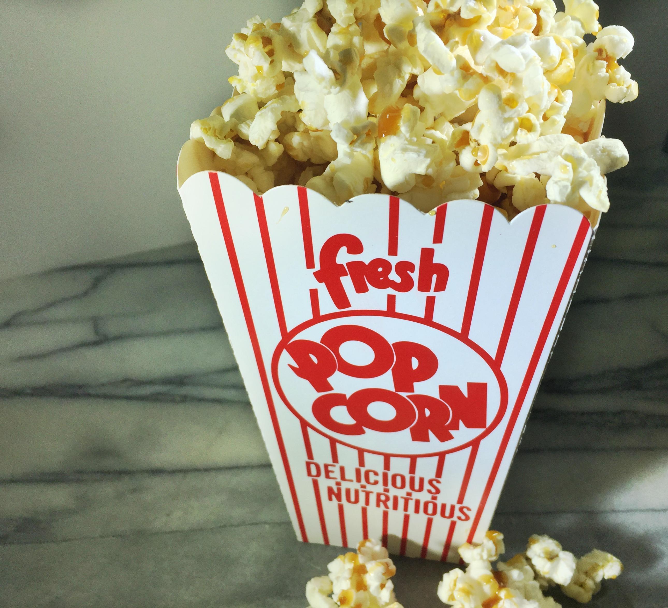 Paleo Caramel on Popcorn