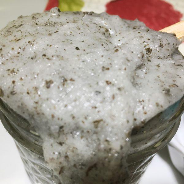 Peppermint & Basil Cane Sugar Scrub