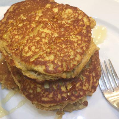 Pumpkin Paleo Pancakes