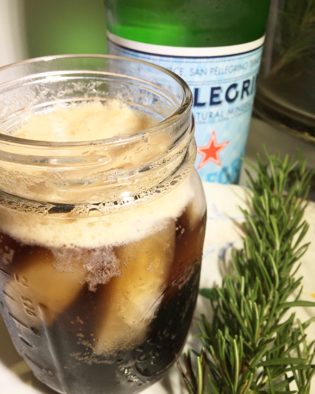 Clean Balsamic Soda