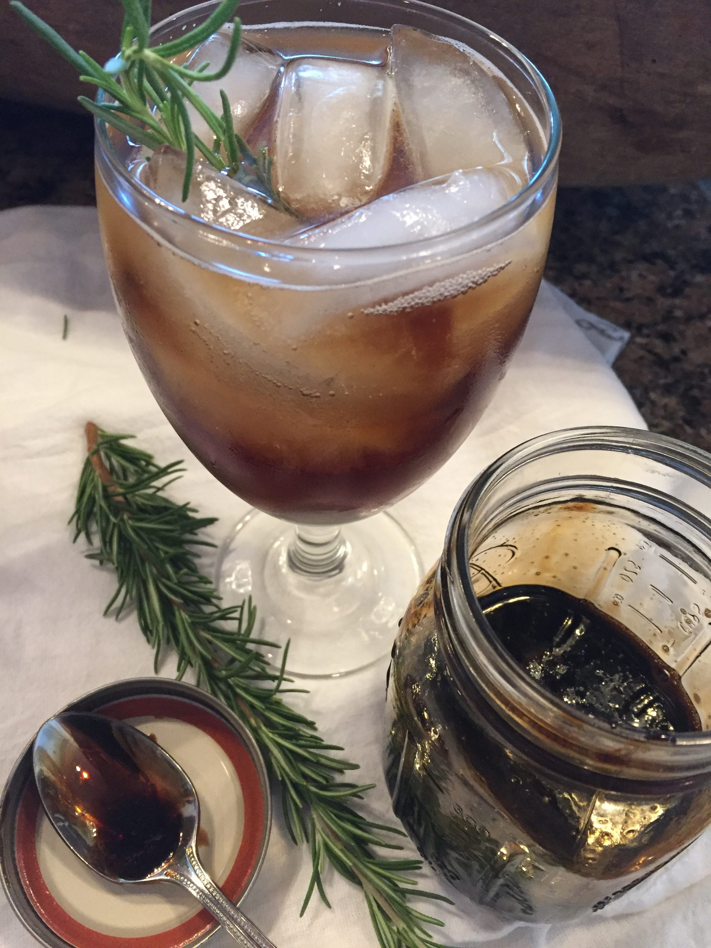 Cleanly Consumed Balsamic Soda