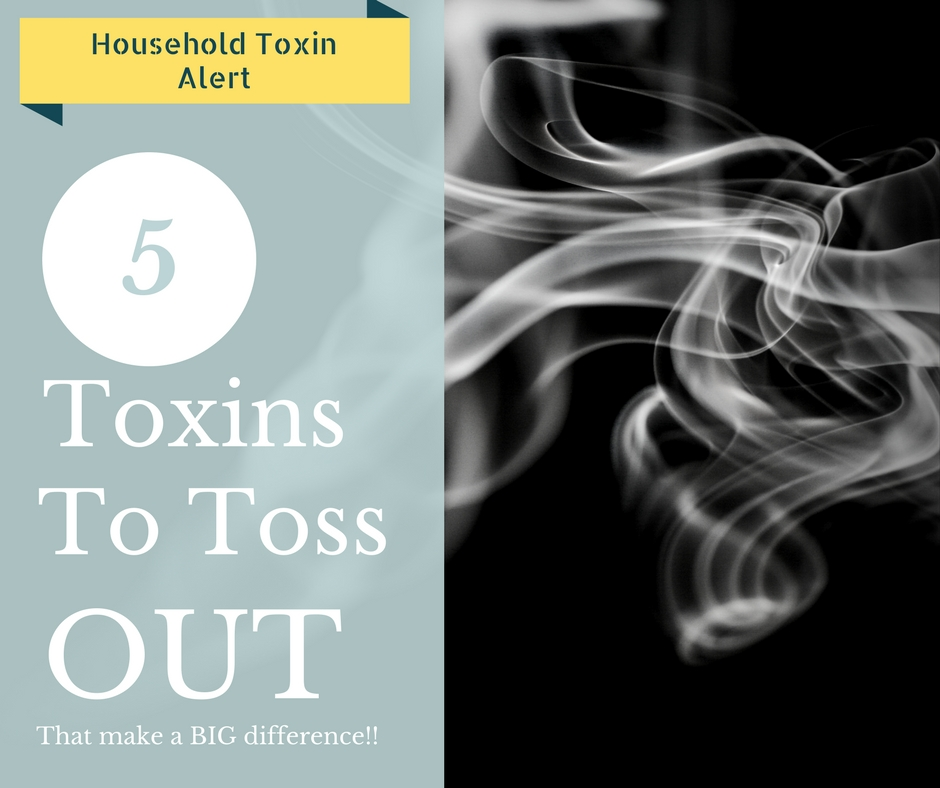 5 Toxins to Take Out of Everyday