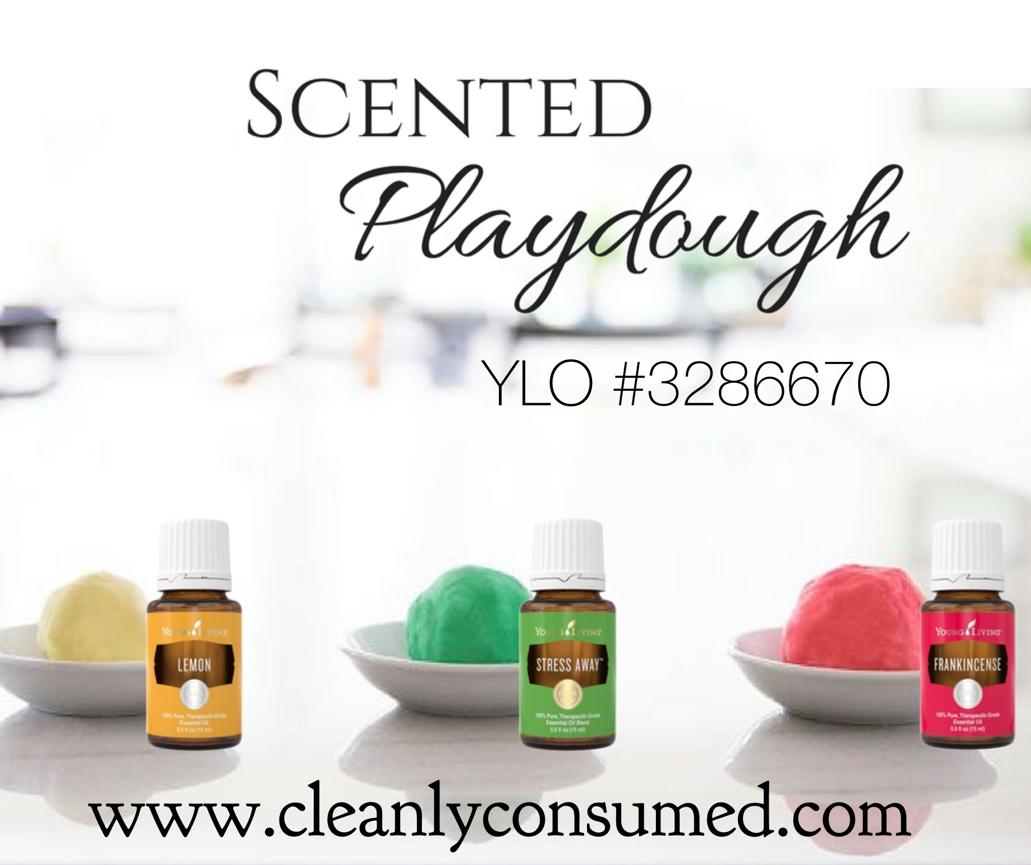 Sensory Play Dough Young Living Essential Oils