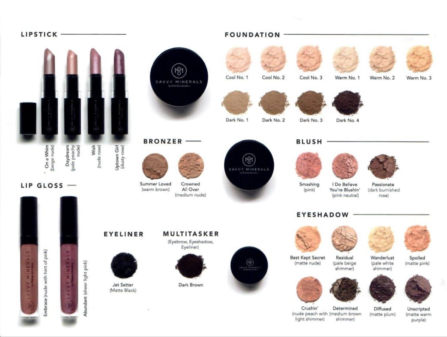 Savvyy Minerals YLO Make Up