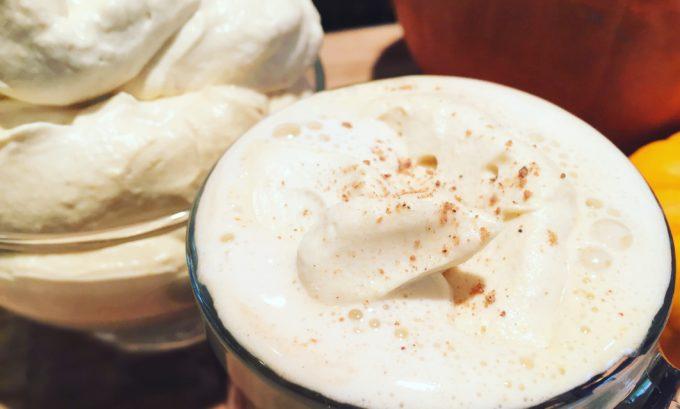 Pumpkin Coconut Whip