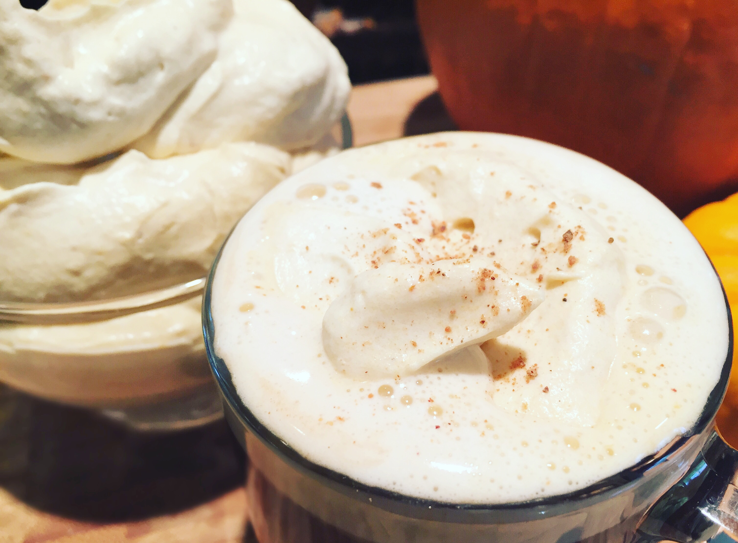 Dairy Free Pumpkin Coconut Whip
