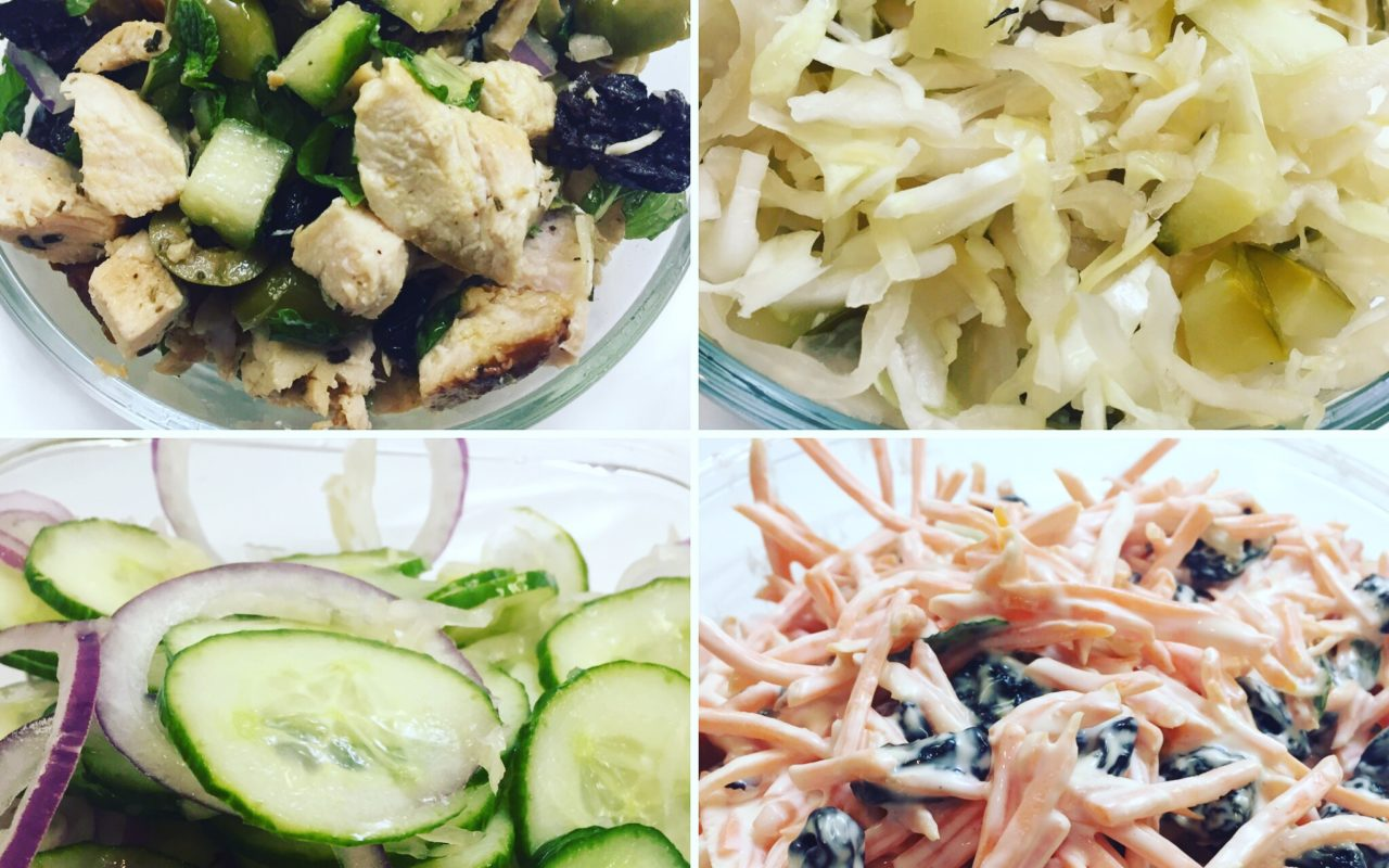4 Quick Clean Eating Salads
