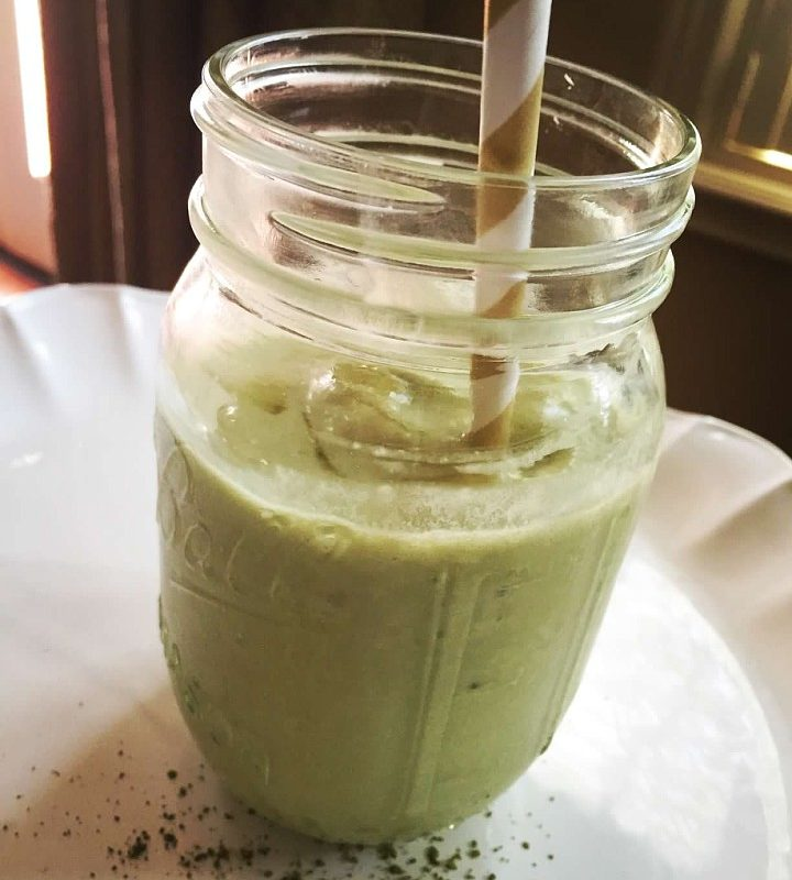 Matcha Tea Green Smoothie