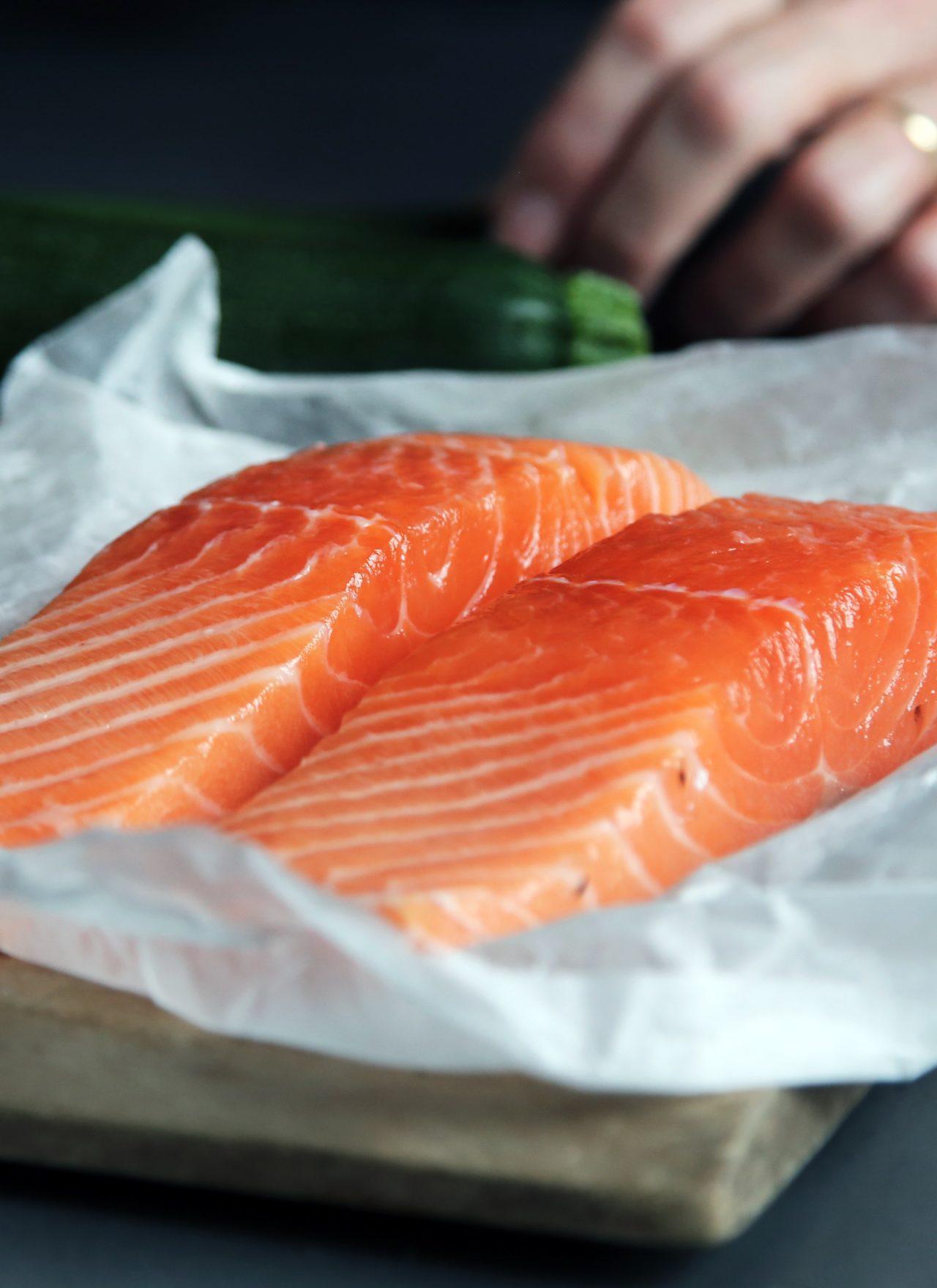 Mediterranean Parchment Salmon Fillet