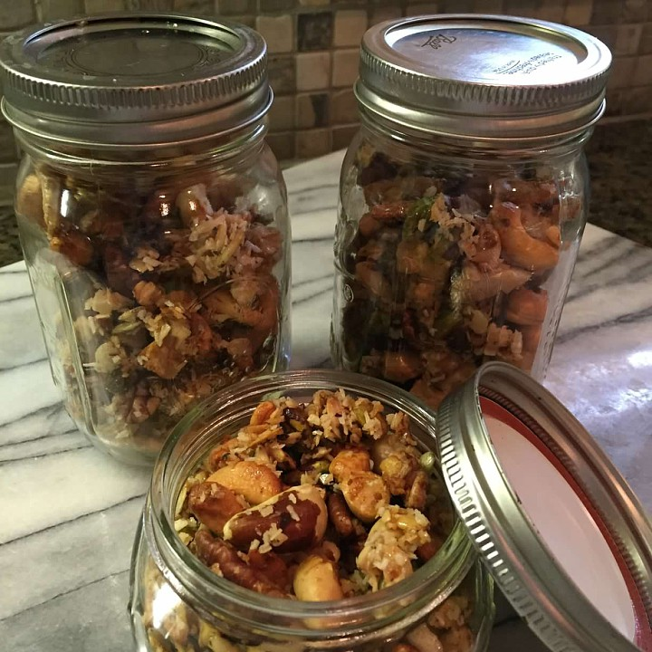Clean Eating Trail Mix Cleanly Consumed