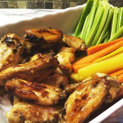 Sticky Sweet Chicken Wings