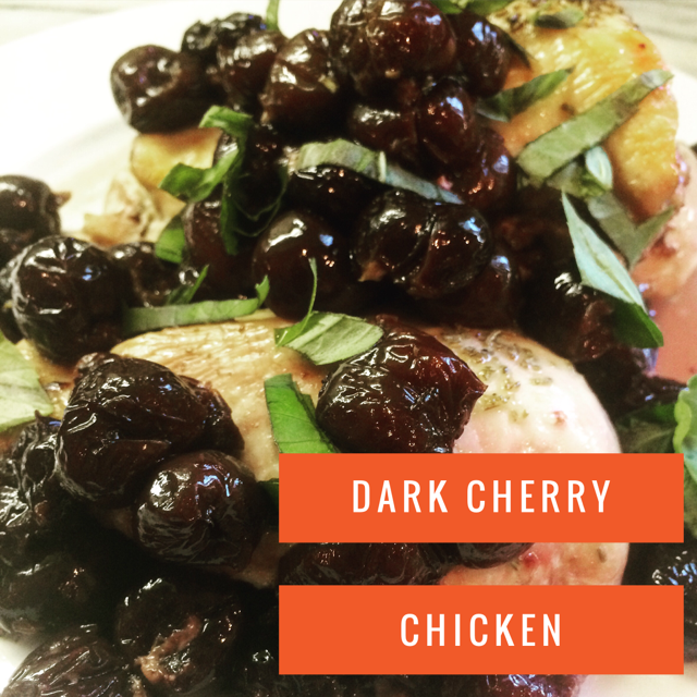Dark Cherry Chicken