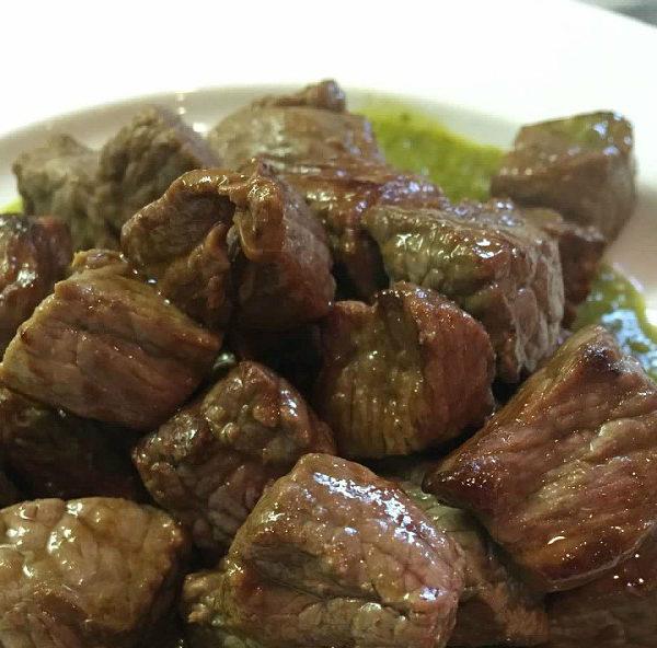 Steak Bites with Chimichurri