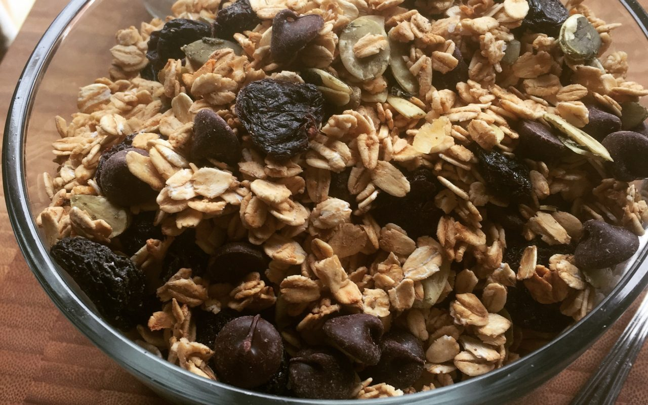 Easy Clean Eating Granola