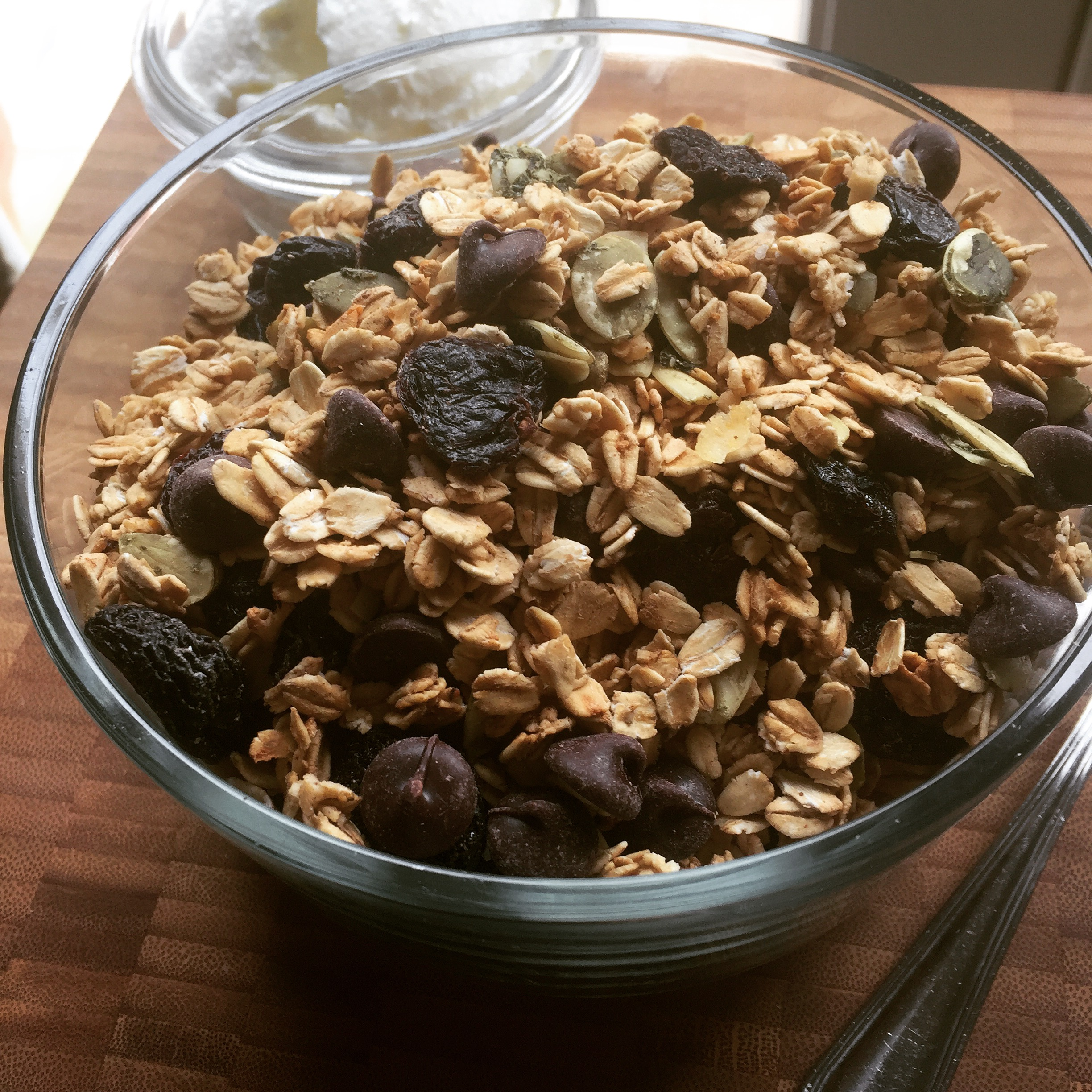 Clean Eating Granola Cleanly Consumed