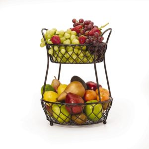 clean eating kitchen fruit basket