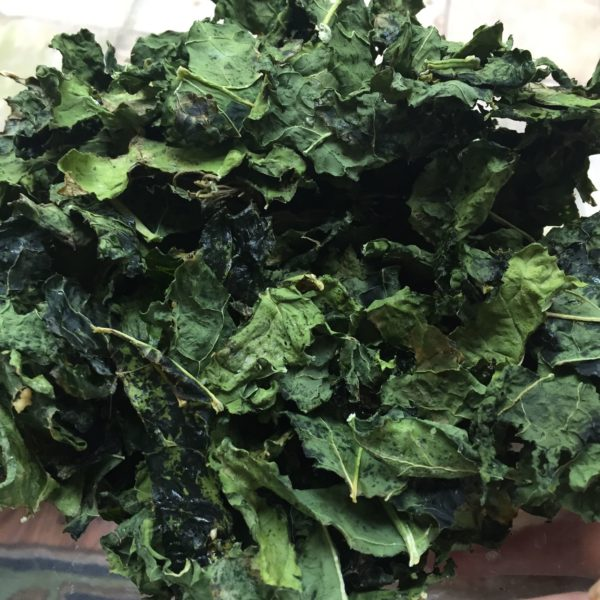 Clean Eating Kale Chips