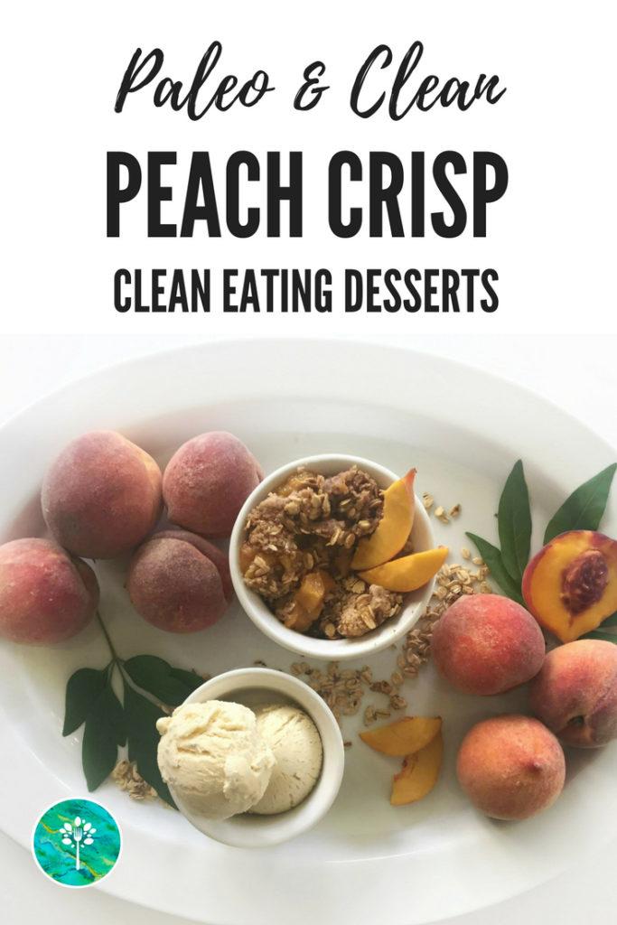 Healthy Peach Dessert