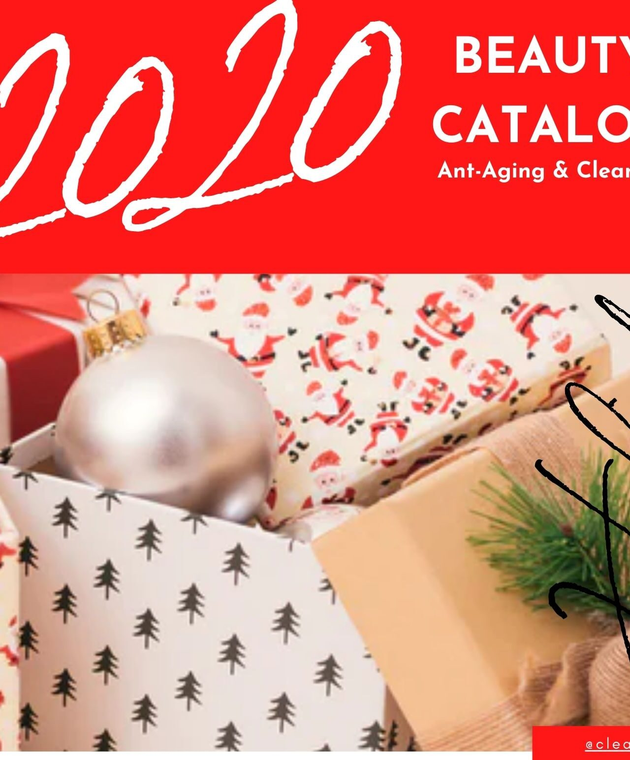 Clean Beauty Holiday 2020 Catalog