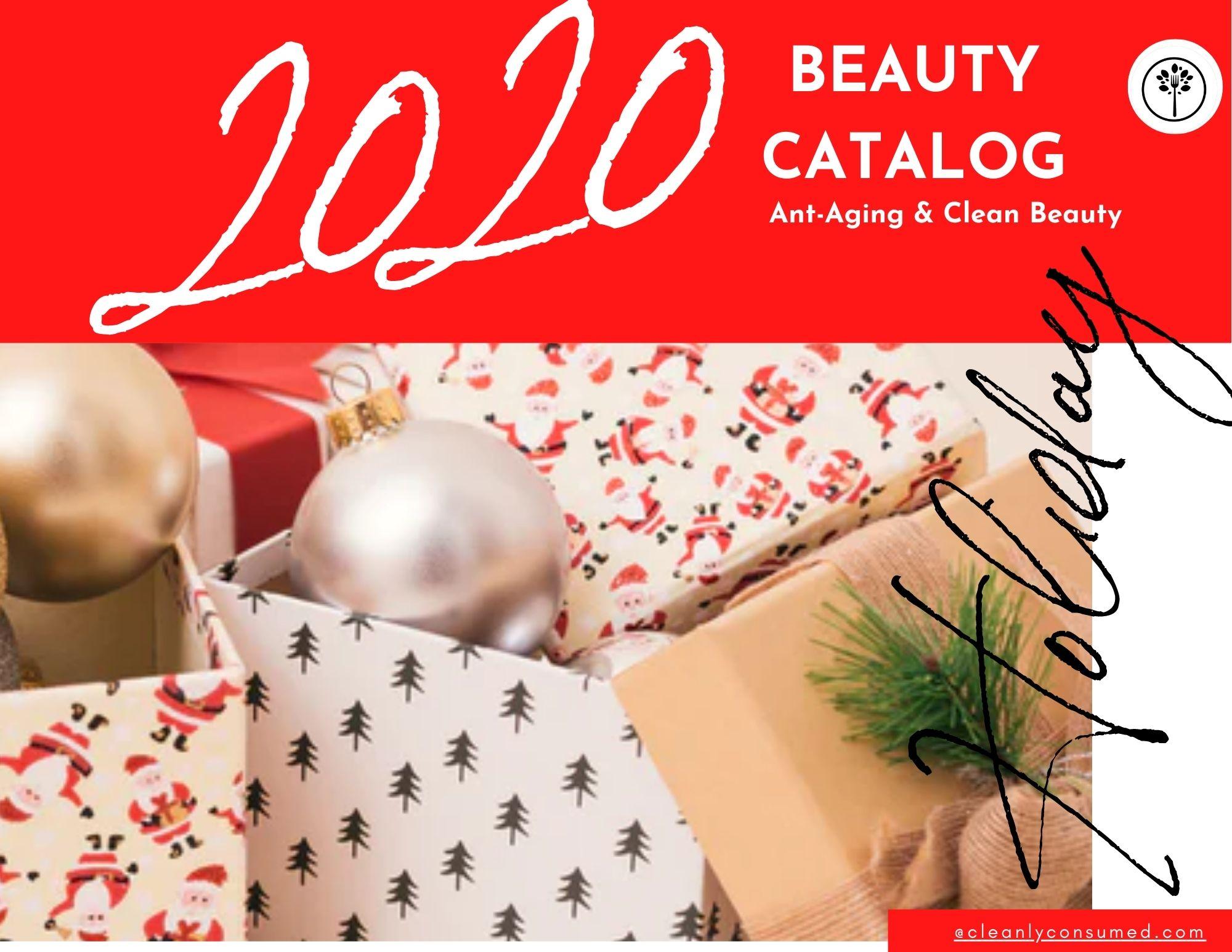 Clean Beauty Holiday Catalog